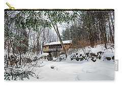 Tannery Hill Covered Bridge Carry-all Pouch