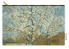 The Pink Peach Tree Carry-all Pouch