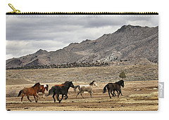 Virginia Range Mustangs Carry-all Pouch