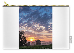 West Virginia Sunrise Carry-all Pouch by Thomas R Fletcher