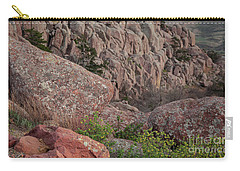 Carry-all Pouch featuring the photograph Wichita Mountains by Iris Greenwell