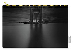 Carry-all Pouch featuring the photograph 50 Shades Of Verrazano by Edgars Erglis