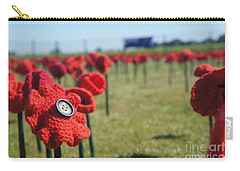 5000 Poppies Carry-all Pouch by Therese Alcorn