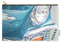 50s Chevy Chrome Carry-all Pouch by Mike Reid