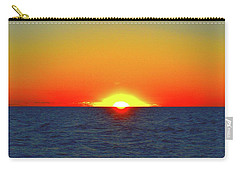 Carry-all Pouch featuring the photograph 5.34.46 Am June 12-2016 Eye In The Sky  by Lyle Crump