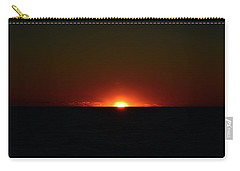 Carry-all Pouch featuring the photograph 5.34.46 Am June 12-2016  by Lyle Crump