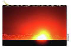 Carry-all Pouch featuring the photograph 5.35.58 Am June 12-2016  by Lyle Crump