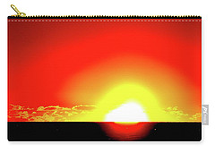 Carry-all Pouch featuring the photograph 5.35.58 Am June 12-2016 Two  by Lyle Crump
