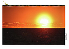 Carry-all Pouch featuring the photograph 5.37.48 Am June 12-2016  by Lyle Crump