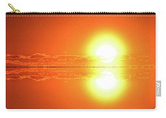 Carry-all Pouch featuring the photograph 5.37.48 Am June 12-2016 Two  by Lyle Crump