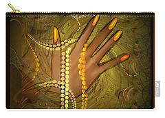 544 -  Gold Fingers  2017 Carry-all Pouch