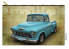 Carry-all Pouch featuring the photograph 55 Stepside by Keith Hawley