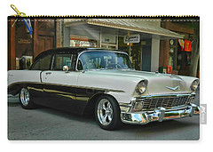 '56 Chevy Hot Rod Carry-all Pouch by Victor Montgomery