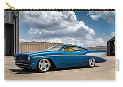 Carry-all Pouch featuring the digital art '57 Chevy Custom by Douglas Pittman