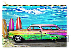 57 Chevy Nomad Wagon Best Part Of Waking Up Carry-all Pouch