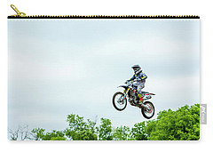 Carry-all Pouch featuring the photograph 573 Flying High At White Knuckle Ranch by David Morefield