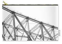 59th Street Bridge, Black And White Carry-all Pouch