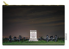 Carry-all Pouch featuring the photograph 5th Massachusetts Battery by Rob Sellers