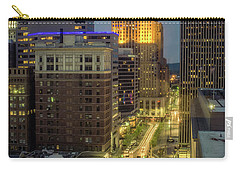 5th Street Cincinnati Carry-all Pouch by Scott Meyer
