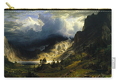 A Storm In The Rocky Mountains, Mt. Rosalie Carry-all Pouch