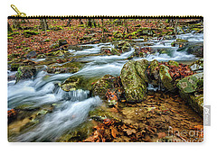 Carry-all Pouch featuring the photograph Aldrich Branch Monongahela National Forest by Thomas R Fletcher
