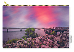 Carry-all Pouch featuring the photograph Amelia Island by Peter Lakomy