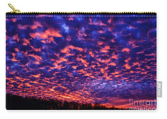 Carry-all Pouch featuring the photograph Appalachian Sunset Afterglow by Thomas R Fletcher