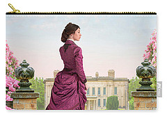 Beautiful Victorian Woman Carry-all Pouch