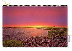 Carry-all Pouch featuring the photograph Big Talbot Island by Peter Lakomy