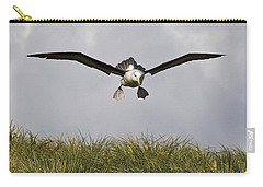 Black-browed Albatross Carry-all Pouch by Jean-Louis Klein & Marie-Luce Hubert