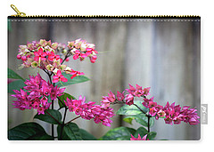 Bleeding Heart Flowers Clerodendrum Painted  Carry-all Pouch