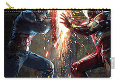 Captain America Civil War 2016 Carry-all Pouch