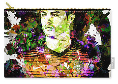 Cristiano Ronaldo Carry-all Pouch by Svelby Art