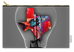 Dallas Texas Map Collection Carry-all Pouch