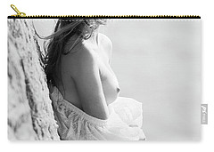 Girl In White Dress Carry-all Pouch