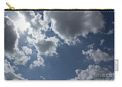 Carry-all Pouch featuring the photograph 6-gon Boken Sky by Megan Dirsa-DuBois