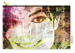Michael Jackson Carry-all Pouch by Svelby Art