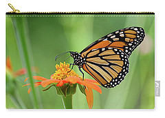 Monarch Carry-all Pouch by Ronda Ryan