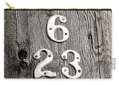 6 Over 23 Carry-all Pouch by Ethna Gillespie
