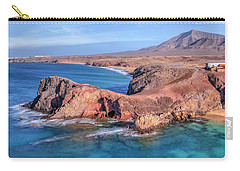 Playa Papagayo - Lanzarote Carry-all Pouch by Joana Kruse