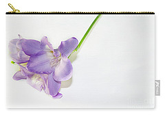Purple Freesia Carry-all Pouch