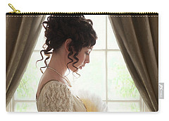 Regency Woman At The Window Carry-all Pouch by Lee Avison