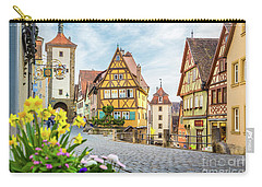 Rothenburg Ob Der Tauber Carry-all Pouch by JR Photography