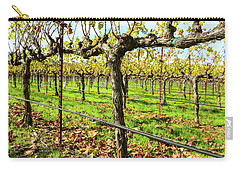 Rows Of Grapevines In Napa Valley California Carry-all Pouch