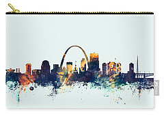 St Louis Missouri Skyline Carry-all Pouch