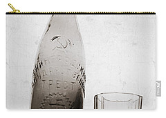 Carry-all Pouch featuring the photograph Vintage Beer Bottle by Andrey  Godyaykin
