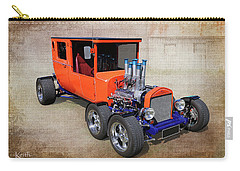 Carry-all Pouch featuring the photograph 6 Wheels by Keith Hawley