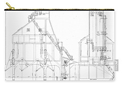 600 Ton Coaling Tower Plans Carry-all Pouch