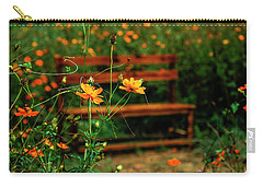 Galsang Flowers In Garden Carry-all Pouch
