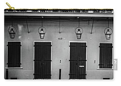 613 Doors And Lights In Black And White Carry-all Pouch